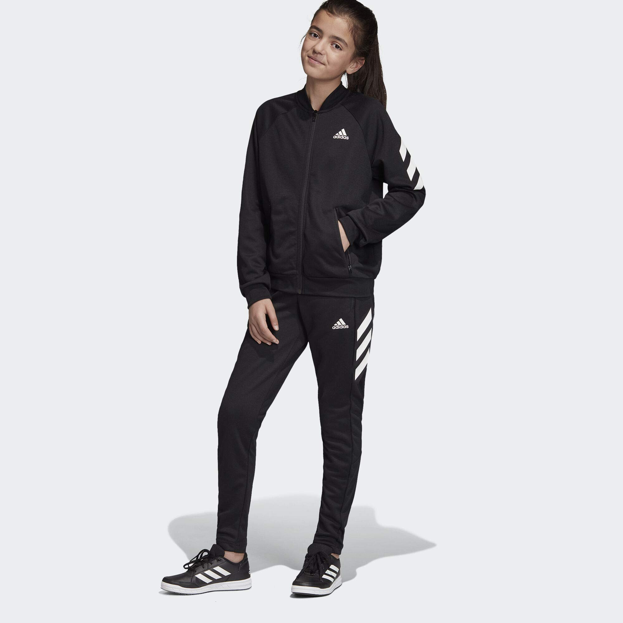 adidas XFG Track Suit Kids', Black, Size S by adidas