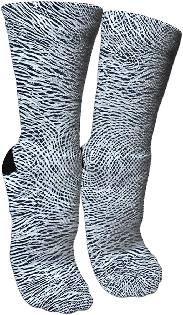 Monochrome Casual Socks Crew Socks Crazy Socks Soft Breathable For Sports Athletic Running