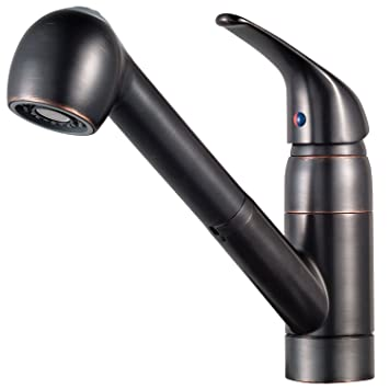 Pfister G133 10YY Series 1 Handle Pull Out Kitchen Faucet, Tuscan Bronze