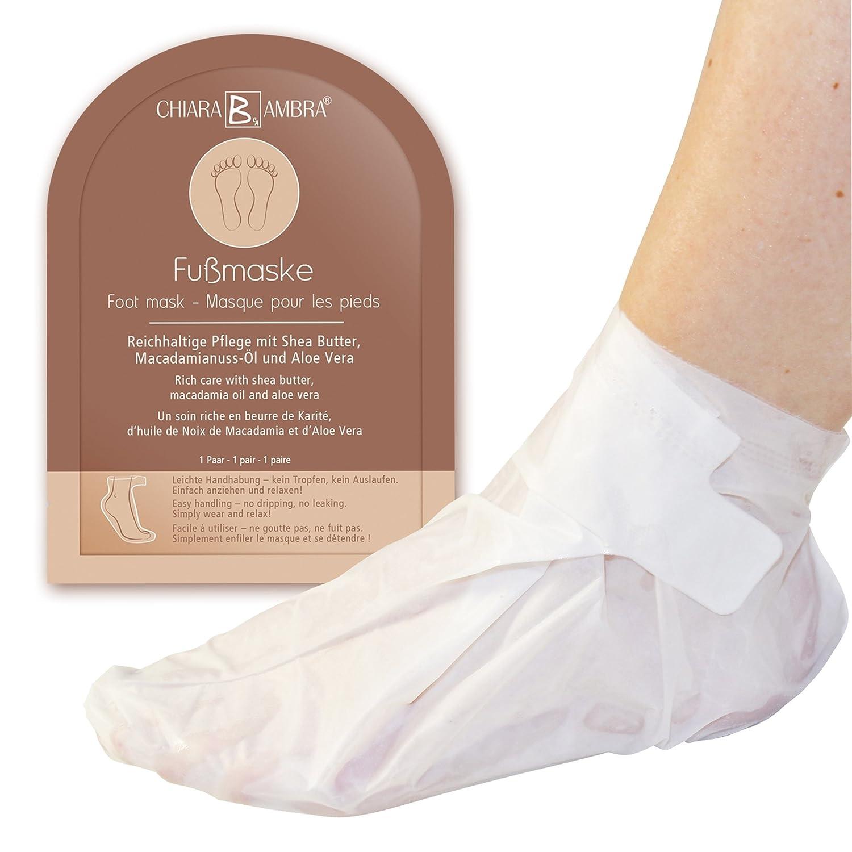 Mascarilla para los pies de Chiara Ambra, un tratamiento de lujo para los pies con una práctica forma de zapato C15599