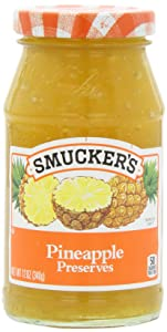 Smucker's Pineapple Preserves, 12 Ounces (Pack of 6)