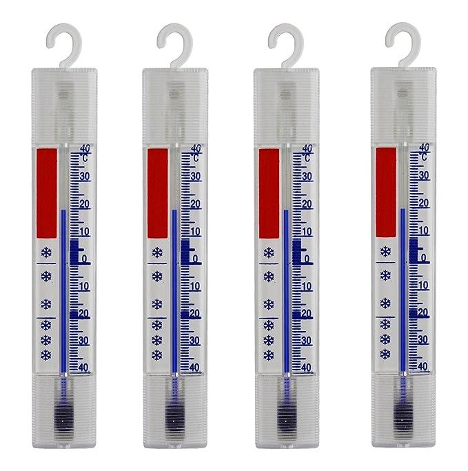 6 opinioni per Lantelme 4884 4 pcs Set frigorifero, congelatore, frigo, frigorifero termometro