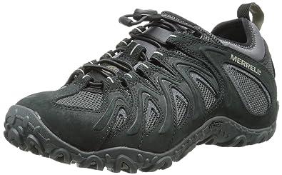 Merrell Men's Chameleon 4 Stretch Hiking Shoe,Black,7 ...