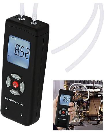 Digital Handheld Manometer HVAC Air Vacuum/Gas Differential Pressure Gauge Meter Tester 11 Units with