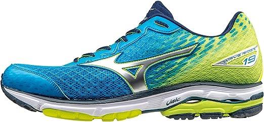 Mizuno Wave Rider - Zapatillas de competición para hombre, color azul, talla 50: Amazon.es: Zapatos y complementos