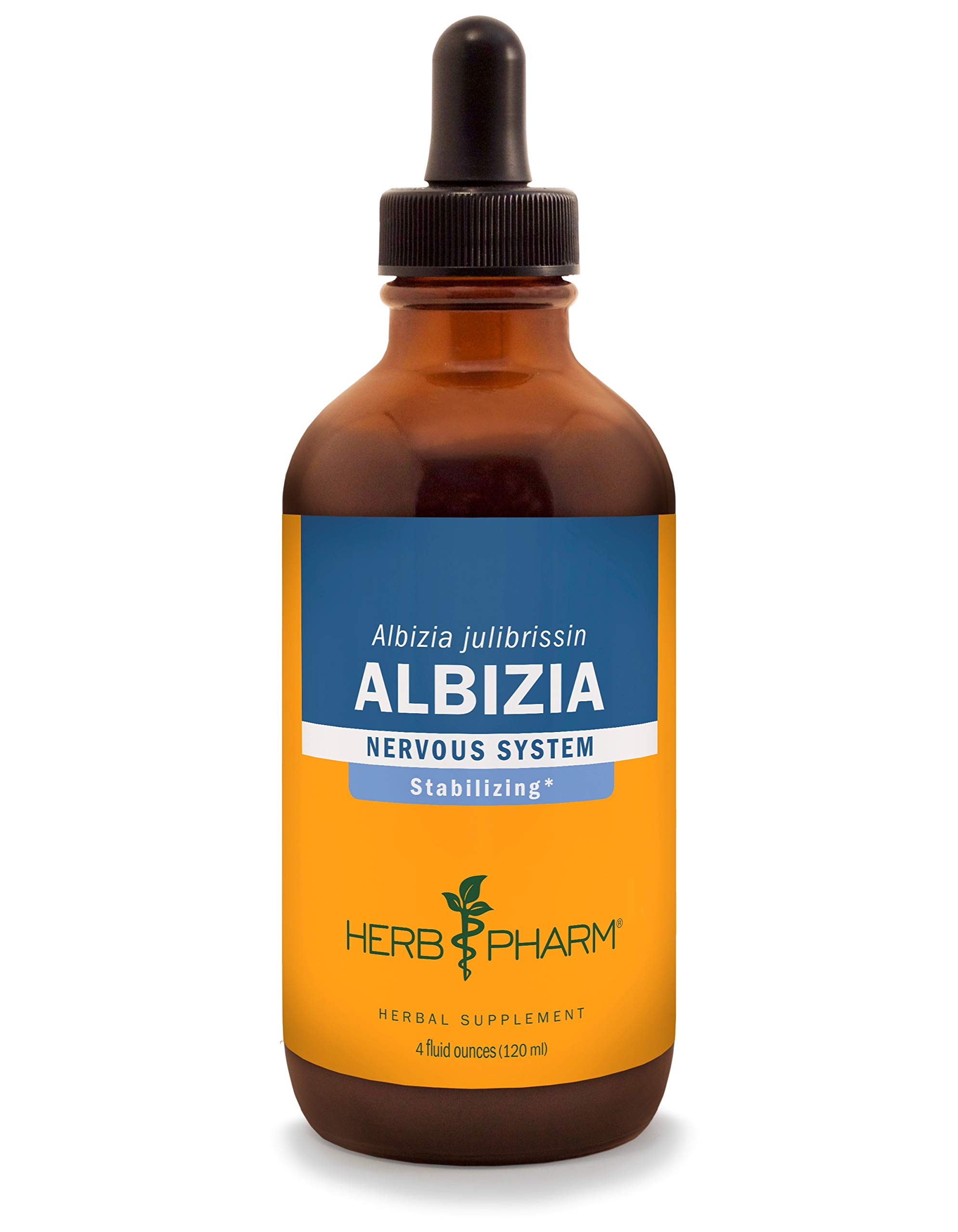 Herb Pharm Albizia Liquid Extract for Nervous System Support - 4 Ounce