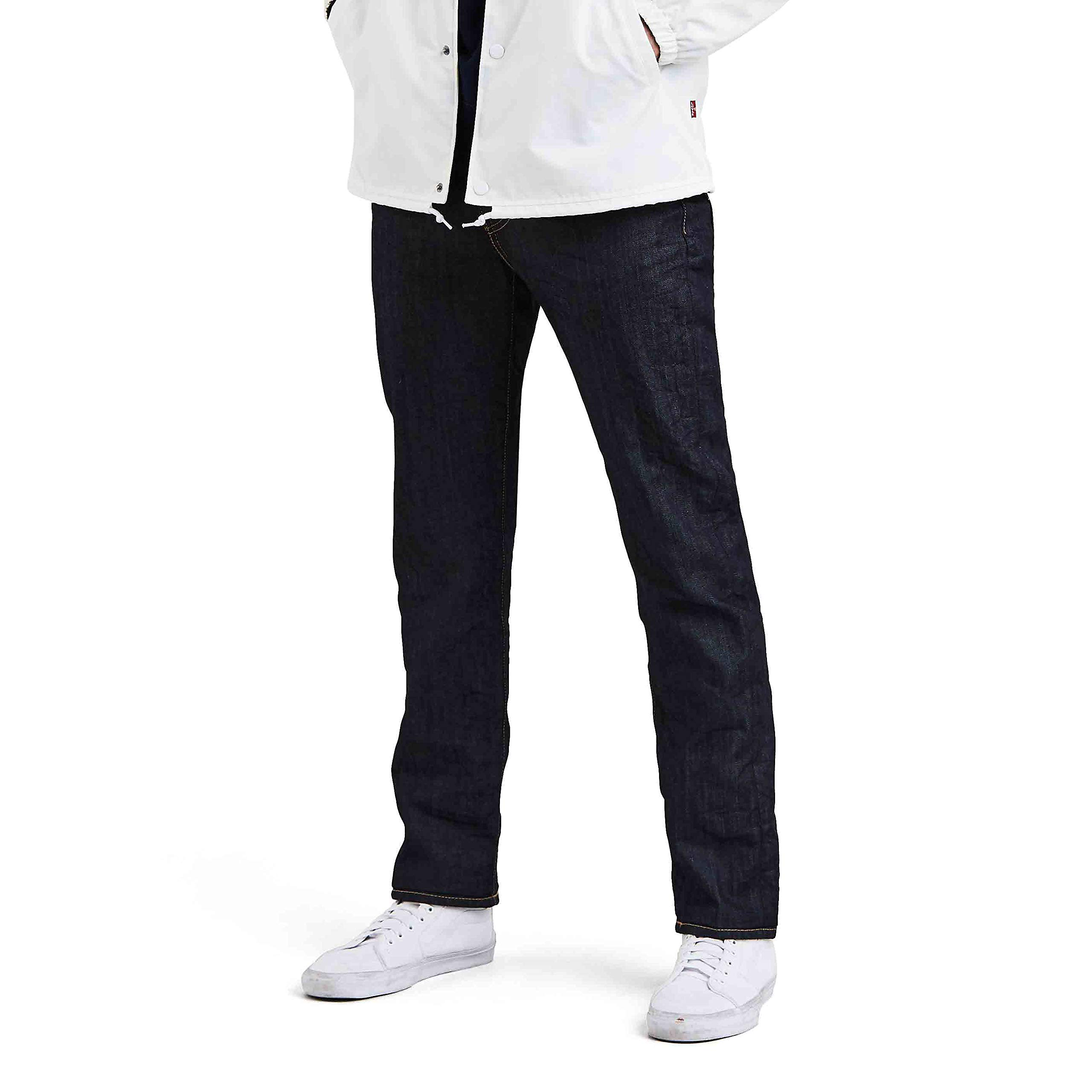 Levi's Mens 511 Slim Fit Stretch Jeans, Blue Flame, 36W x 34L