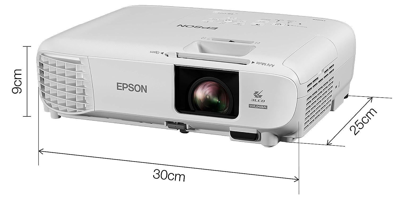 Epson EB-U05 Video - Proyector (3400 lúmenes ANSI, 3LCD, WUXGA ...