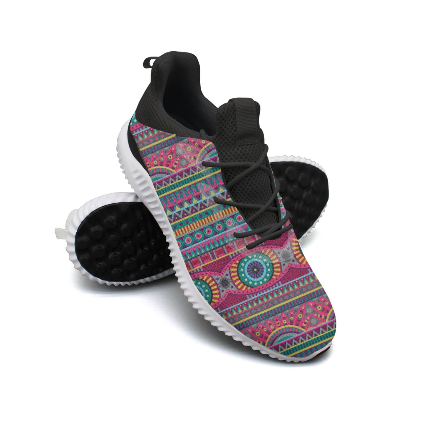 Flower Pattern Of African Leisure Sports Running Shoes Women Top Jogger Gift