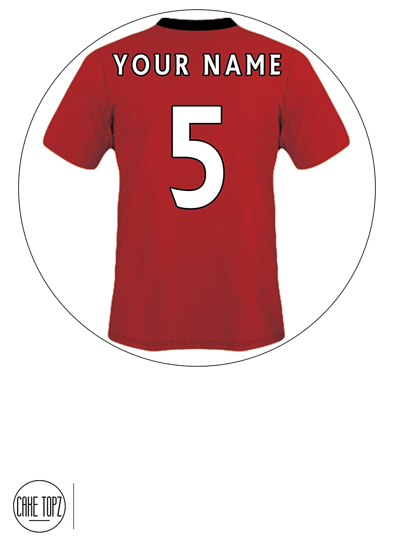 121c95bbc Make Manchester United Shirt Cake - Nils Stucki Kieferorthopäde