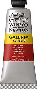 Winsor & Newton Galeria Acrylic Paint, 60-ml Tube, Red Ochre