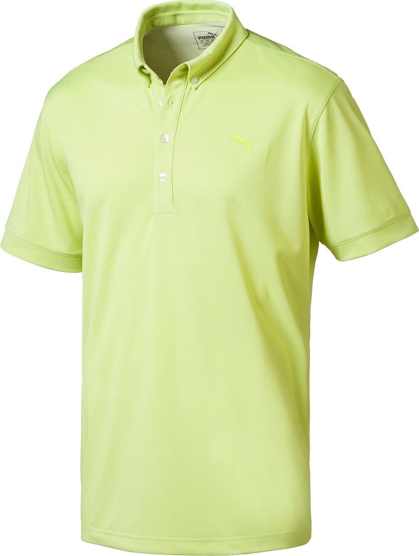 [プーマ] メンズ シャツ PUMA Men's Oxford Heather Golf Polo [並行輸入品]   B07CMYSQL5