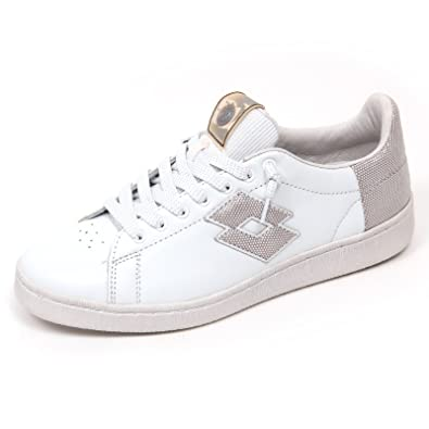 Blanc (White/Blue)  Violet (Smoky Grape-Black) Lotto Leggenda Chaussures de Gymnastique Femme 37 EU Chaussures Mod8 grises fille  43 EU EU OZ0Hz