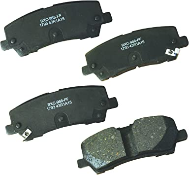 Bendix Premium Copper Free CFC1793 Ceramic Brake Pad Rear