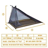 OneTigris SEA Mist Screen Tent, Ultralight Mesh