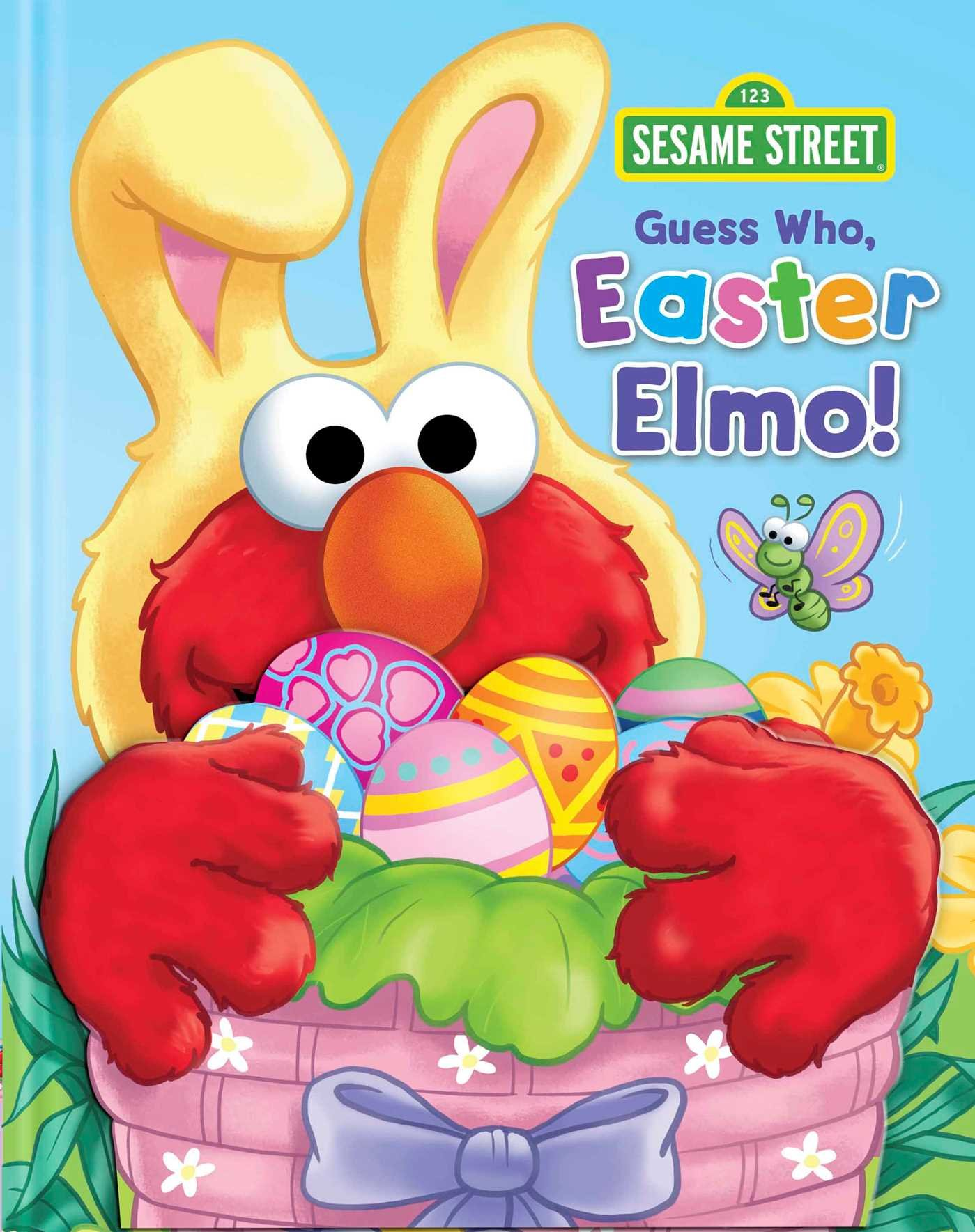 Sesame Street: Guess Who, Easter Elmo! (Guess Who! Book)