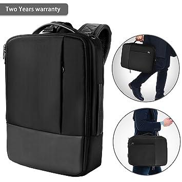 Mochila para ordenador portátil – Bolsa impermeable para hombro para hombres y niños de negocios,