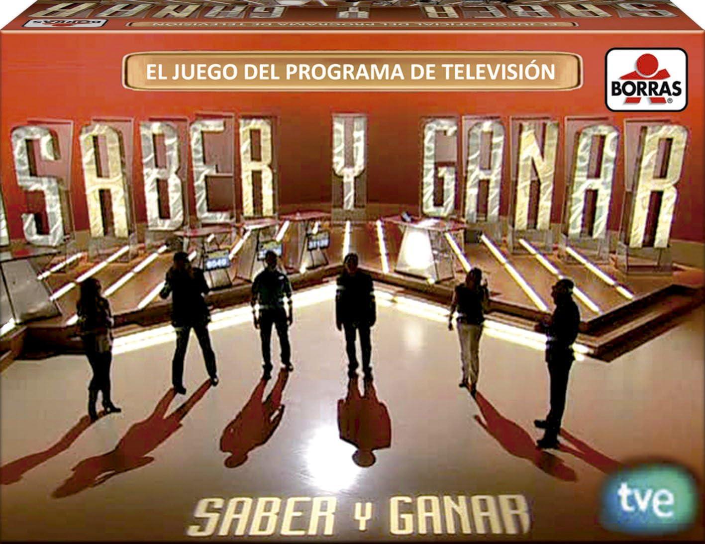 Educa Borrás - Juego Saber y Ganar (15951): Amazon.es: Juguetes y juegos