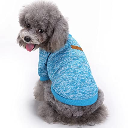 e9ff3a935df3 CHBORLESS Pet Dog Classic Knitwear Sweater Warm Winter Puppy Pet Coat Soft Sweater  Clothing Small Dogs