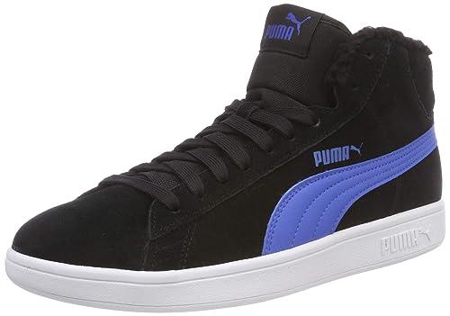 cd8fbf52c4 Puma Smash V2 Mid Fur Jr