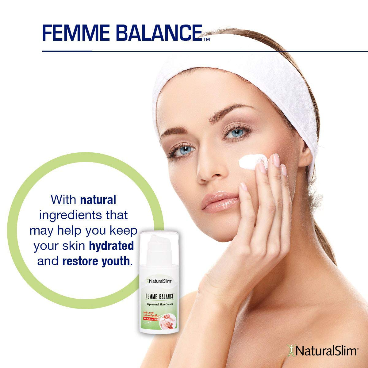 Nouveaux produits 05748 9142c NaturalSlim Femme Balance Cream, Formulated by Metabolism and Weight Loss  Specialist-...