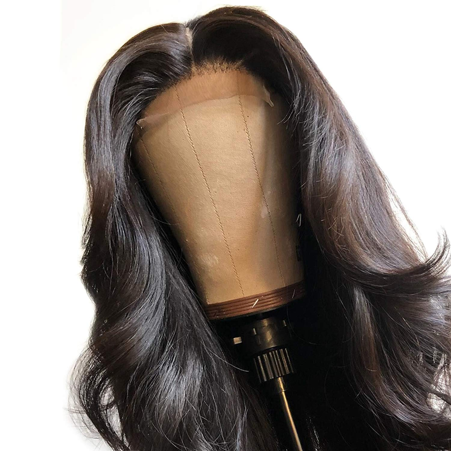 Body Wave Lace Front Human Hair Wigs For Black Women Frontal Lace Wig Pre Plucked With Baby Hair Brazilian Remy Full End Vs Bob,8Inches