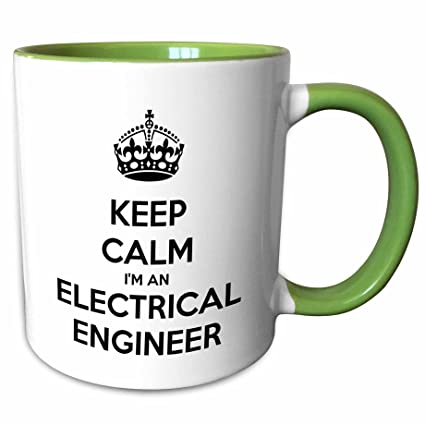 818208772 Image Unavailable. Image not available for. Color: 3dRose EvaDane - Funny  Quotes - Keep calm Im an electrical ...