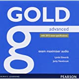 Gold Advanced Exam Maximiser Class Audio CDs