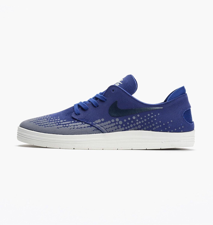 on sale 37a46 2e067 Details about NIKE Men s Lunar Oneshot Deep Royal Blue White Shoes Size 11.5