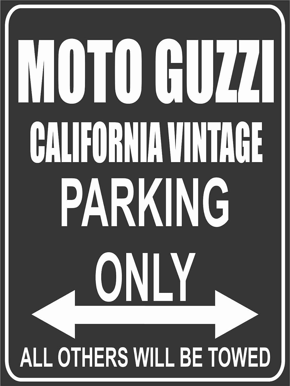Parkplatzschild Parking Only Parkplatz Moto Guzzi California Vintage