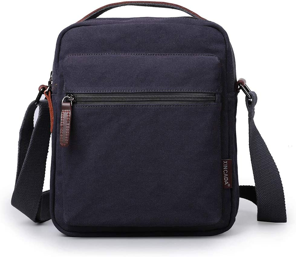 New Men/'s Messenger Bags Canvas Shoulder Hand Bag Men Business Crossbody Bag erd
