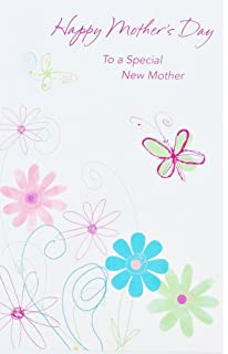 happy mothers day to a special new mother wishing you cuddles and kisses and