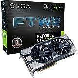 EVGA GeForce GTX 1070 FTW2 Gaming, 8GB GDDR5, iCX Technologie - 9 Temperatur Sensoren & RGB LED G/P/M, Asynch Fan, Optimized Airflow Design Grafikkarte 08G-P4-6676-KR