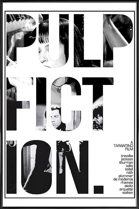 JUNIQE® Picture with frame 30x45cm Black & White Movies - Design ...