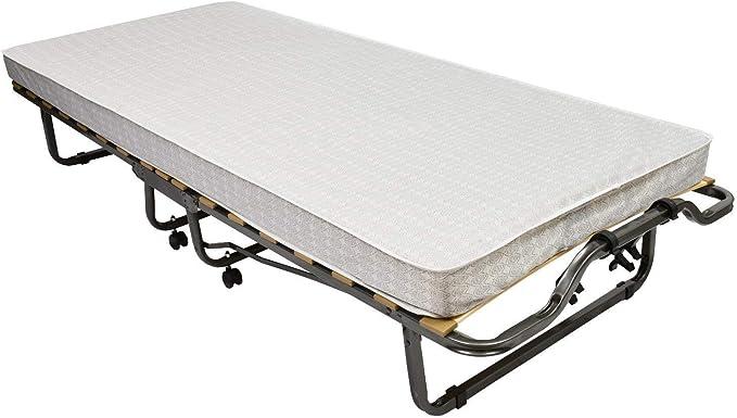 Veraflex Colonia - Cama de Invitados Plegable (90 x 200 cm, Incluye colchón y funda protectora)