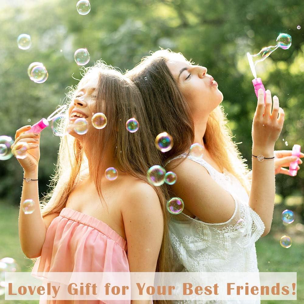Jeka Friendship Matching Bracelet Set Handmade Vsco Rope Bracelet for Best Friends Family Daughter Couples