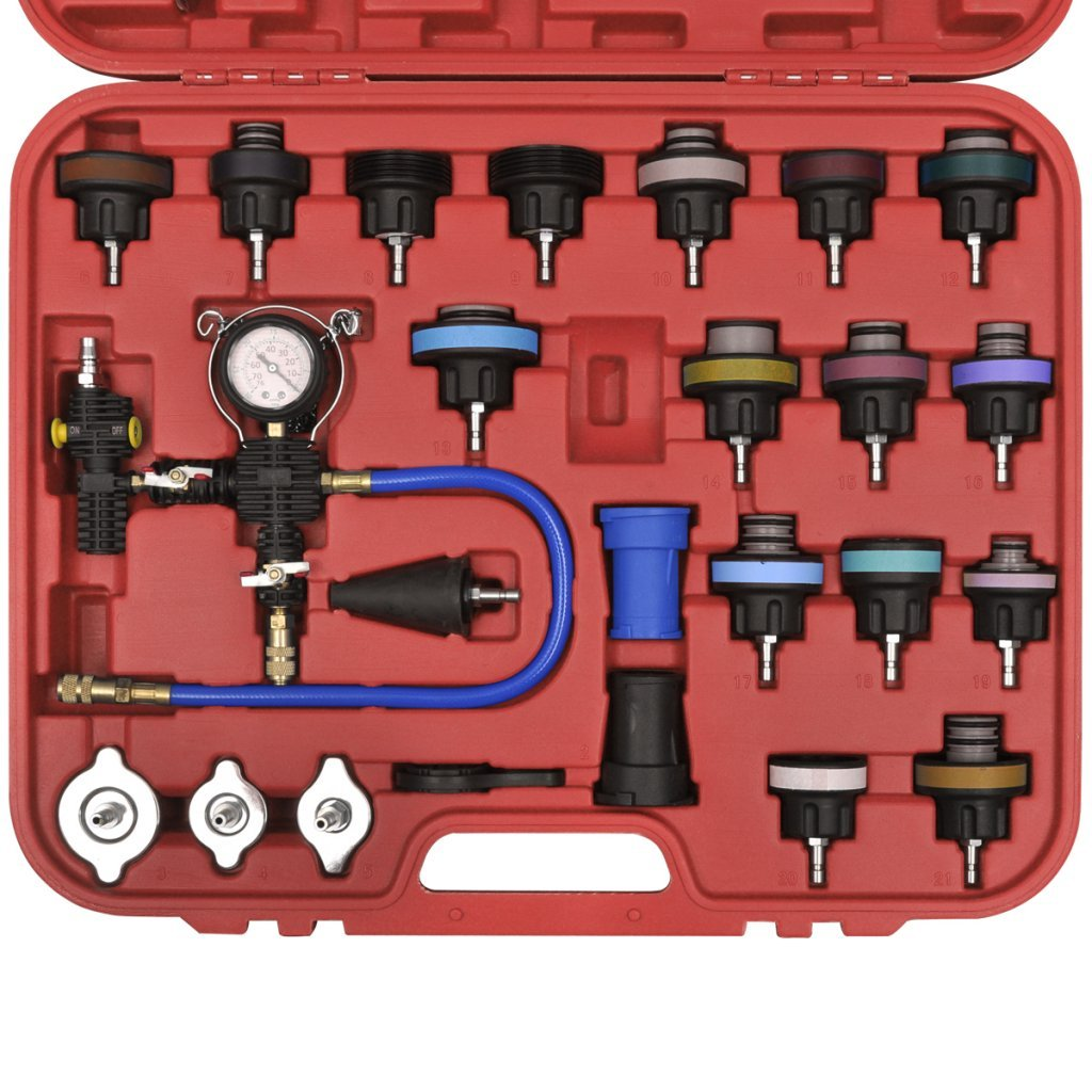 Festnight 27 pcs Radiator Pressure Tester with Vacuum Purge and Refill Kit by Festnight (Image #2)