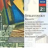 Stravinsky: Ballets - Le Sacre du Printemps (The Rite of Spring); Petrushka; Jeu de Cartes; Apollon Musagete; L'Oiseau…