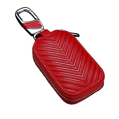 Amazon.com: MoreFarther - Funda de piel para llave de coche ...