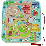 HABA Town Maze Magnetic Game Developmental STEM Activity Encourages Fine Motor Skills & Color Recognition with…