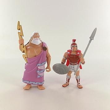 Amazondedisney Heroes Hercules Packung Mit 2 Figuren Zeus Und Ares