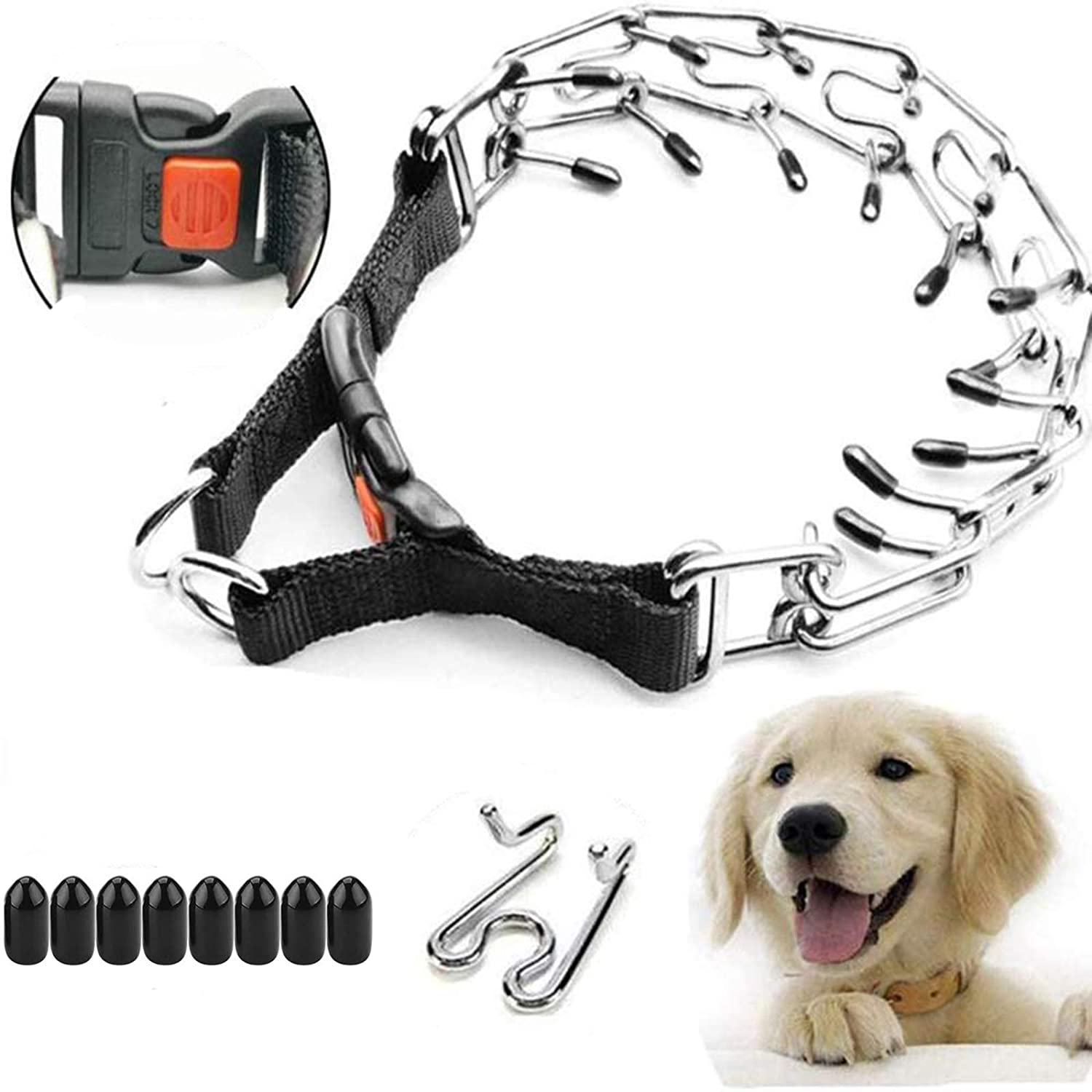 Supet Dog Prong Collar