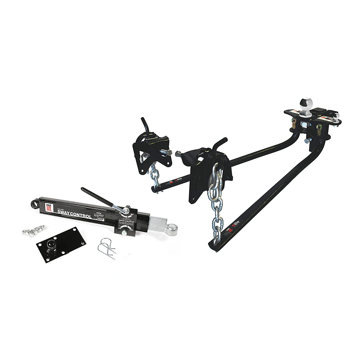 "EAZ LIFT 48069 1200 lbs Elite Kit, Includes Distribution, Sway Control and 2-5/16"" Hitch Ball-1,200 lbs Tongue Weight Capacity (48069)"