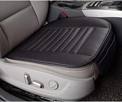 US Anti Slip PU Leather Universal 3D Car Front Seat Protector Cover Pad
