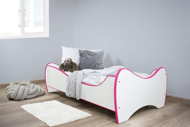Cama Infantil con colch/ón Topbeds Midi Color Blanco 160 x 80 cm