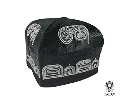 Amazon com: The Uzbek skullcap for men, Tubeteyka  EASTDREAM PALOV