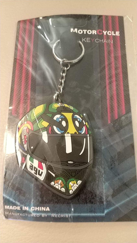 LLavero Casco Tortuga AGV Valentino Rossi VR46 Moto GP