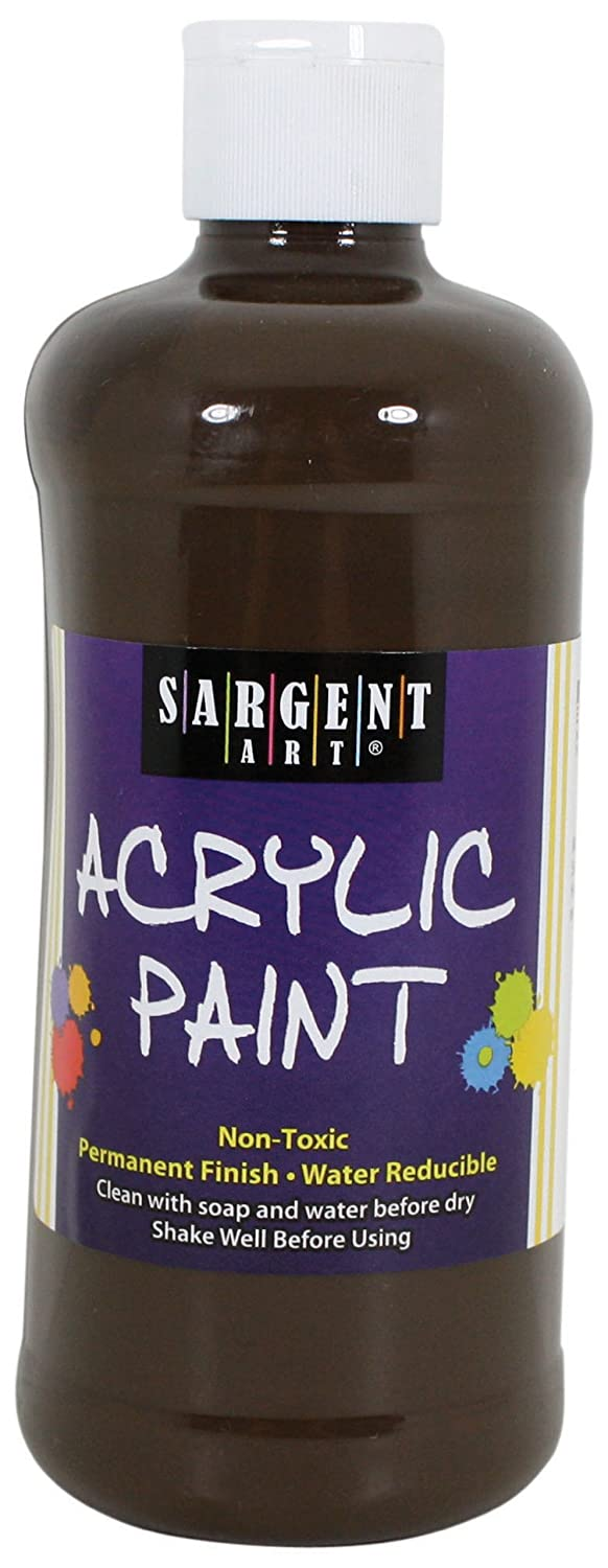 Sargent Art 24-2420 16-Ounce Acrylic Paint, Red