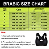 BRABIC Women Post-Surgical Sports Support Bra Front