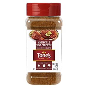 Tone's Nashville Hot Chicken Seasoning OU Kosher Certified